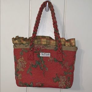 April Cornell for Isabella's Journey tapestry bag